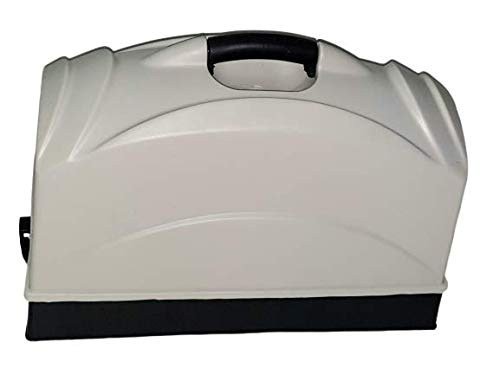 Plastic Sewing Machine Cover Set/Carrying Box (Multi Color)